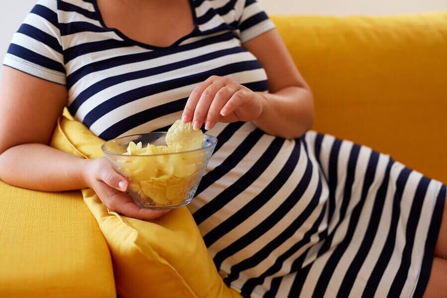 Por que temos desejos durante a gravidez?