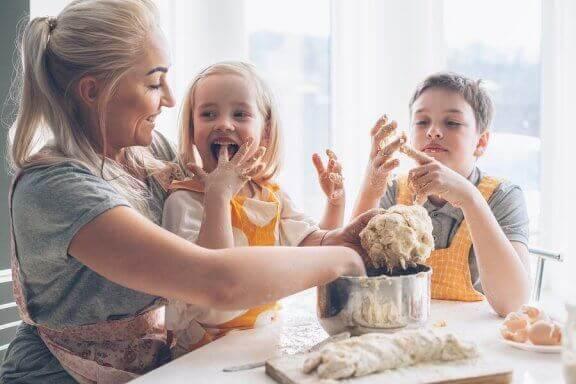 3 pratos para cozinhar com as crianças