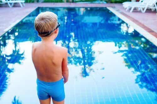 O medo da água em crianças