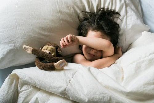 Causas dos pesadelos em crianças