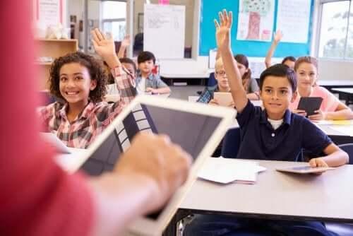 alunos participativos