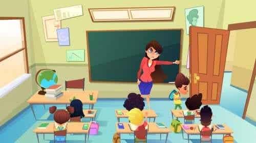 Punições na sala de aula