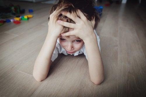 Crianças e o estresse infantil