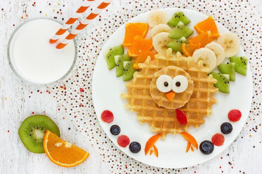 receitas divertidas para o café da manhã