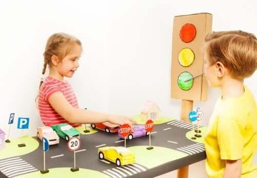 a educação no trânsito para crianças