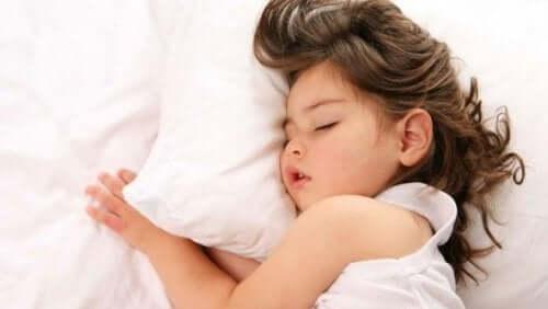 rotina antes de dormir