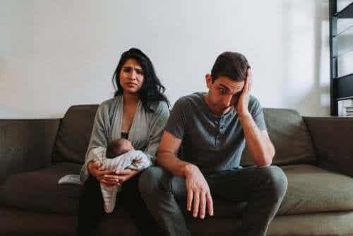 Crise conjugal com a chegada do bebê