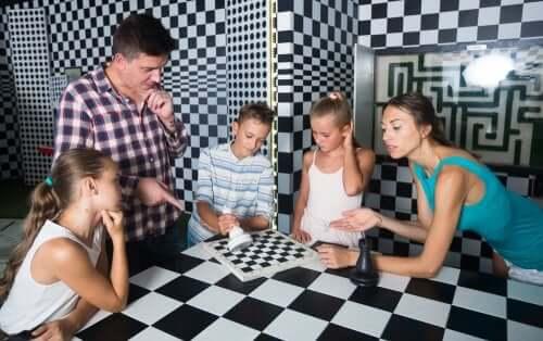 escape rooms para crianças