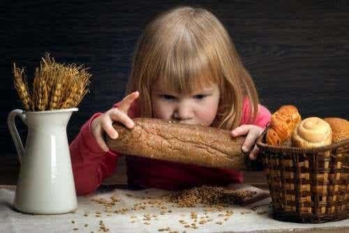 Alimentação das crianças com doença celíaca