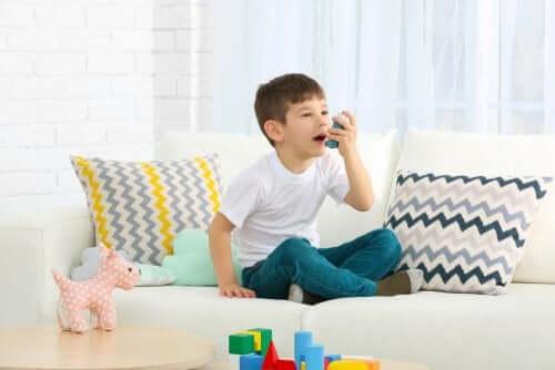 asma em crianças