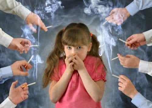 Os efeitos do tabaco nas crianças