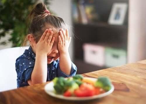 Meu filho não gosta de vegetais