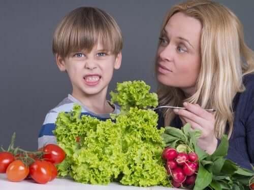 Meu filho não gosta de vegetais: o que fazer?