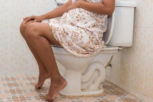 Constipação durante a gravidez