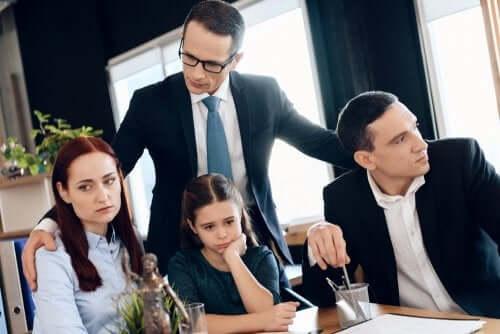 o advogado de família