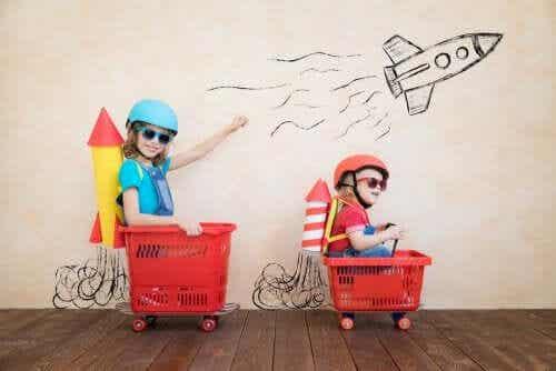 O tédio estimula a criatividade infantil