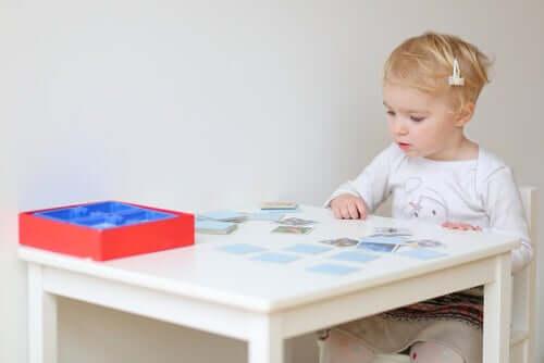 a concentração das crianças