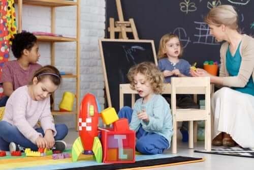 O brincar como eixo metodológico na educação infantil