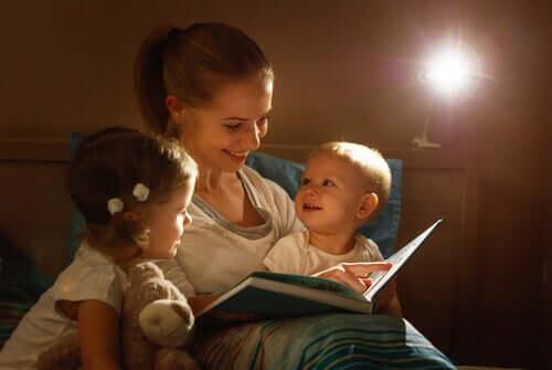 começar a ler para as crianças