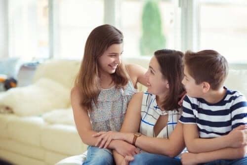 Não faça os seus filhos sentirem que eles são um sacrifício para você
