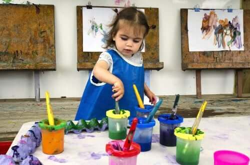 Como nutrir o talento artístico do seu filho em idade pré-escolar