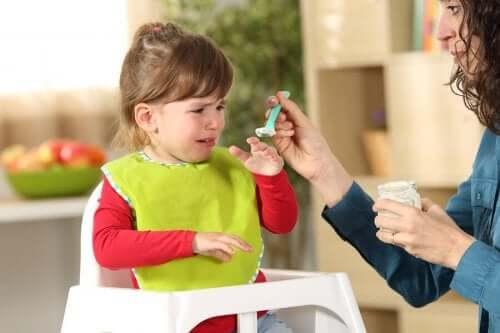 transtorno alimentar seletivo na infância