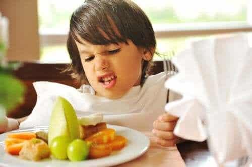 O transtorno alimentar seletivo na infância
