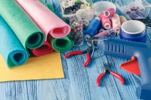 5 artesanatos com feltro para crianças