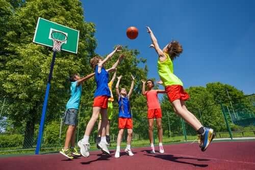 Lesões esportivas em crianças