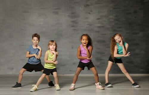 Dança moderna para crianças