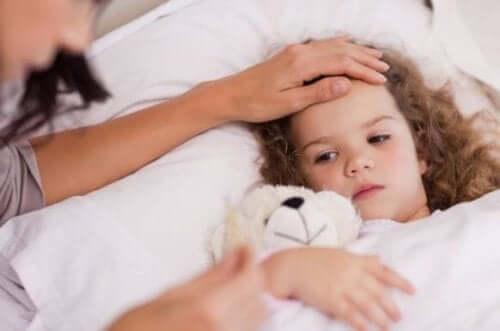 detectar naturalmente se o meu filho está com febre