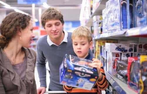 Dicas para evitar o consumismo compulsivo em crianças