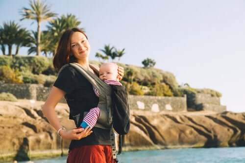 Cangurus para carregar o bebê