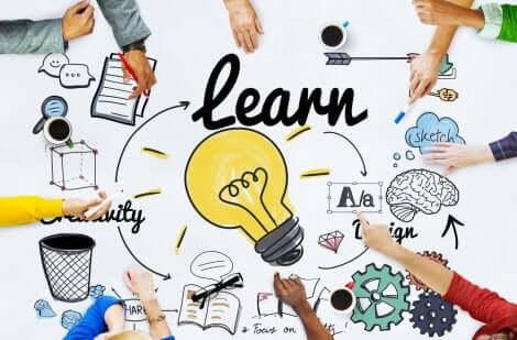 Teste de Kolb e estilos de aprendizagem: brainstorm