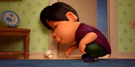 A protagonista de Bao, um curta-metragem sobre a síndrome do ninho vazio