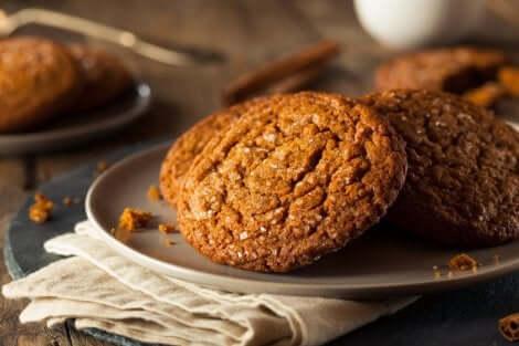Deliciosos biscoitos de gengibre para o Natal