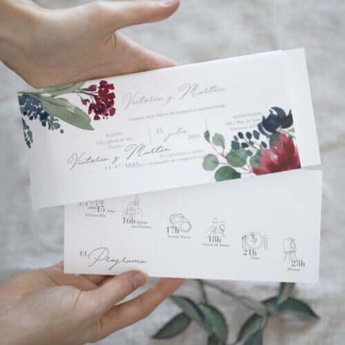 Como escolher os seus convites de casamento?