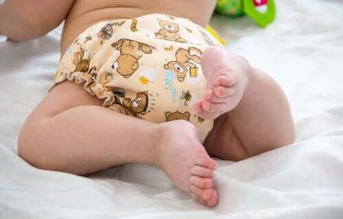 Cestas de fraldas para bebês: passo a passo