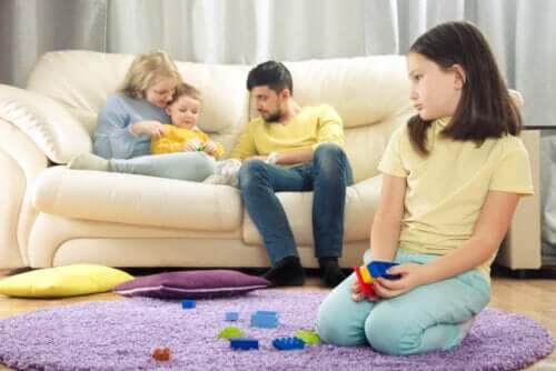 O cérebro das crianças quando elas sentem ciúmes