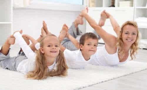 6 ideias para fazer esportes com os seus filhos
