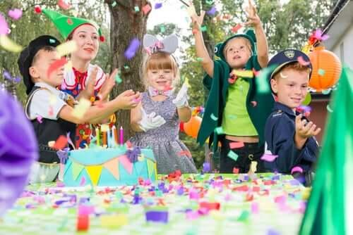 Convites originais para festa de aniversário infantil