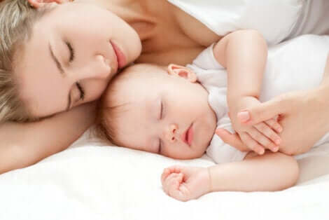O sono da mãe após o nascimento do bebê