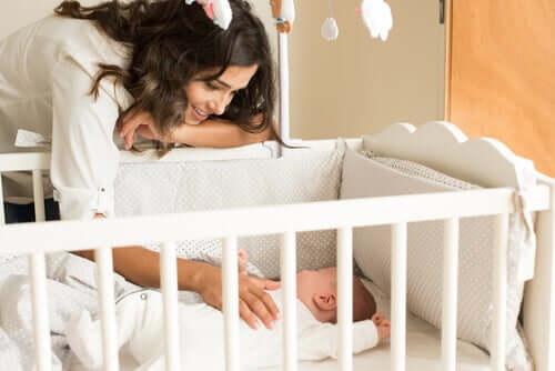 Móveis para o quarto do recém-nascido