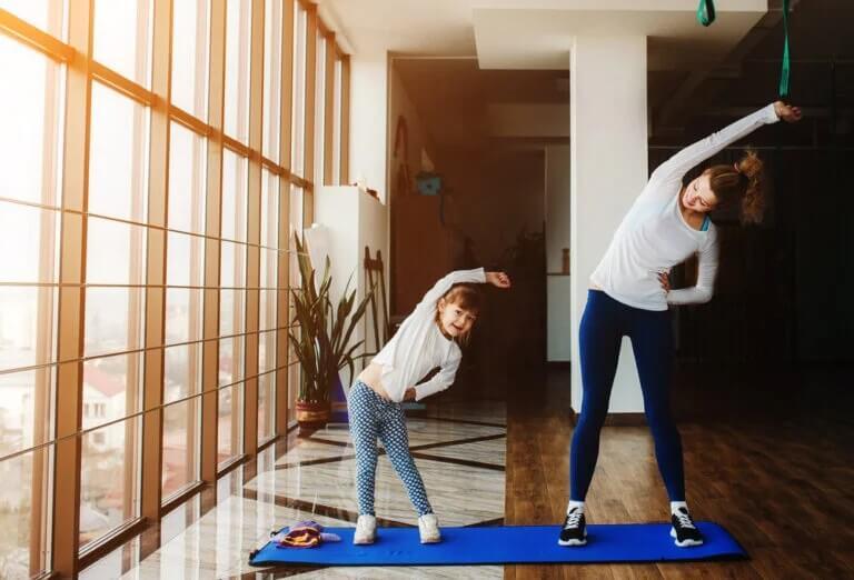 Dicas para ajudar seus filhos a enfrentar a quarentena: exercícios