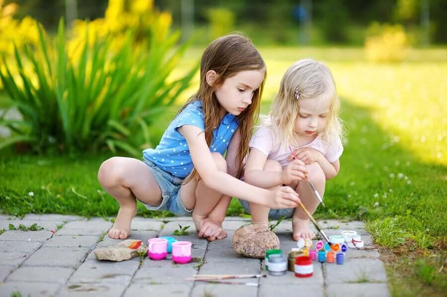 Pintar pedras: artesanatos originais para crianças