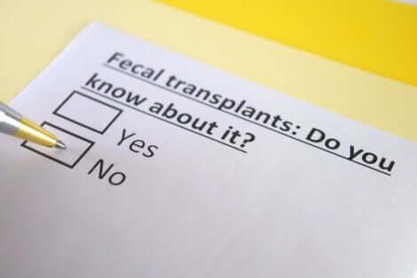 Você sabe o que é o transplante fecal?