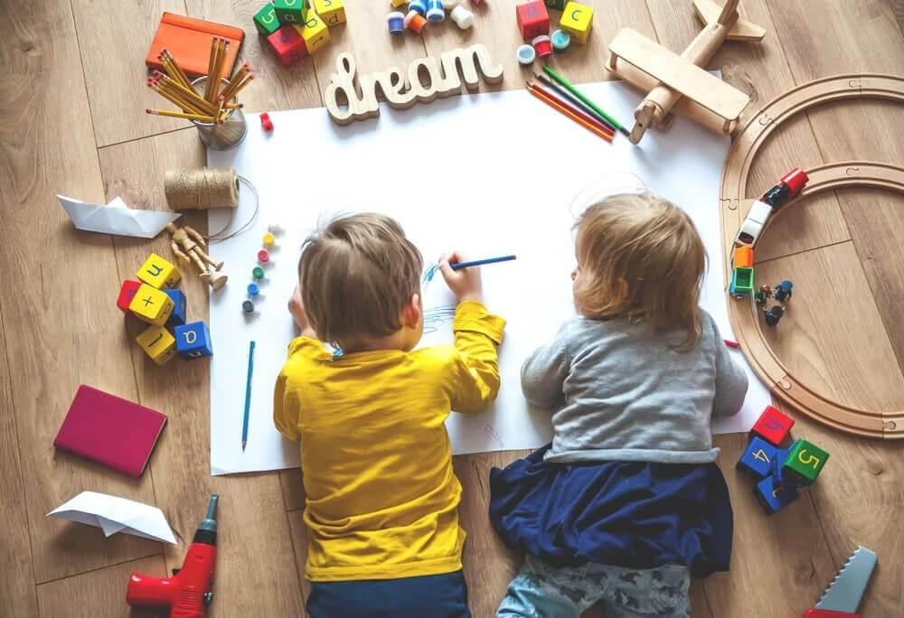 Como criar um espaço de aprendizagem para seu filho durante a quarentena
