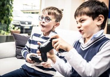 Jogos violentos durante a infância