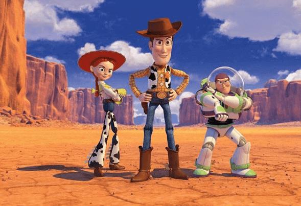 Toy Story, os brinquedos ganham vida