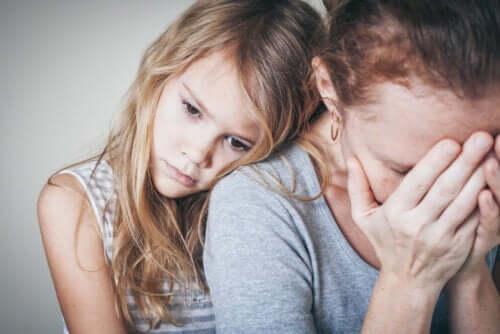 garantir que a sua ansiedade não afete os seus filhos